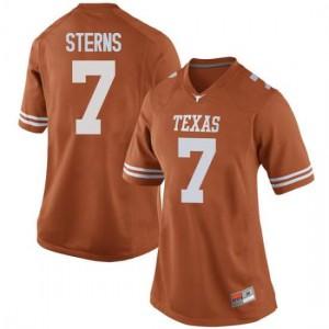 Women Texas Longhorns Caden Sterns #7 Game Orange Football Jersey 349763-826