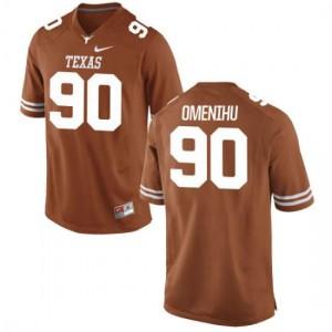 Women Texas Longhorns Charles Omenihu #90 Replica Tex Orange Football Jersey 129513-157