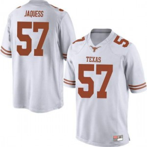 Men Texas Longhorns Cort Jaquess #57 Game White Football Jersey 240270-651