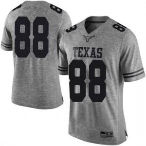 Men Texas Longhorns Daniel Carson #88 Limited Gray Football Jersey 128427-587