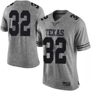 Men Texas Longhorns Daniel Young #32 Limited Gray Football Jersey 466500-650