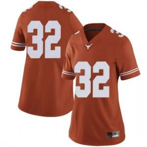 Women Texas Longhorns Daniel Young #32 Limited Orange Football Jersey 417549-503