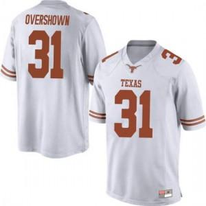 Men Texas Longhorns DeMarvion Overshown #31 Game White Football Jersey 962538-130