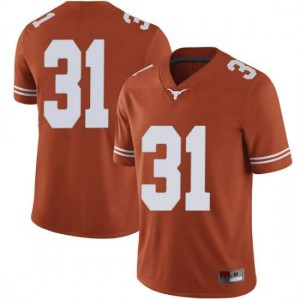 Men Texas Longhorns DeMarvion Overshown #31 Limited Orange Football Jersey 918077-895