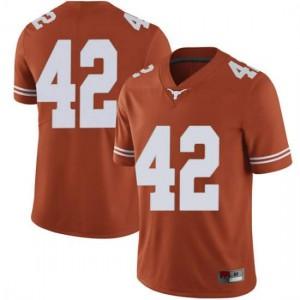 Men Texas Longhorns Femi Yemi-Ese #42 Limited Orange Football Jersey 264800-890