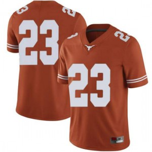 Men Texas Longhorns Jarrett Smith #23 Limited Orange Football Jersey 396635-201