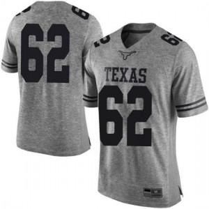 Men Texas Longhorns Jeremy Thompson-Seyon #62 Limited Gray Football Jersey 642392-309