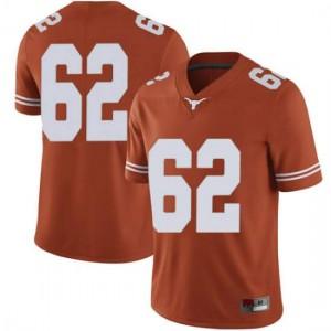Men Texas Longhorns Jeremy Thompson-Seyon #62 Limited Orange Football Jersey 680103-660