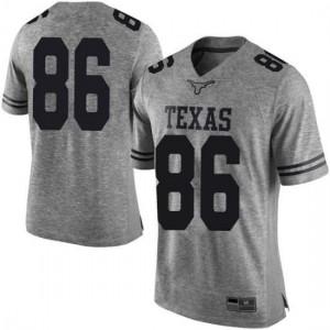 Men Texas Longhorns Jordan Pouncey #86 Limited Gray Football Jersey 938005-527