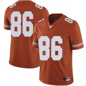 Men Texas Longhorns Jordan Pouncey #86 Limited Orange Football Jersey 751752-609