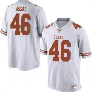 Men Texas Longhorns Joseph Ossai #46 Game White Football Jersey 272842-951