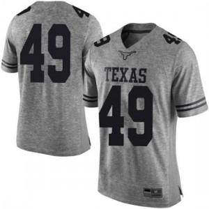 Men Texas Longhorns Joshua Rowland #49 Limited Gray Football Jersey 372047-399