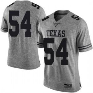 Men Texas Longhorns Justin Mader #54 Limited Gray Football Jersey 270709-779