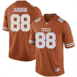 Men Texas Longhorns Kai Jarmon #88 Replica Orange Football Jersey 502994-353