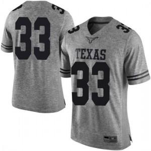Men Texas Longhorns Kamaka Hepa #33 Limited Gray Football Jersey 604653-468
