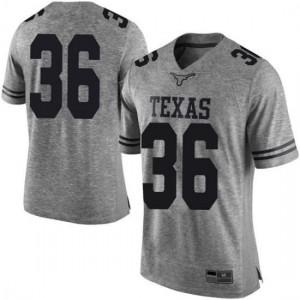 Men Texas Longhorns Kamari Williams #36 Limited Gray Football Jersey 260646-324
