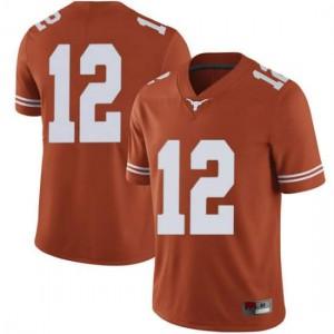 Men Texas Longhorns Kerwin Roach II #12 Limited Orange Football Jersey 882401-427