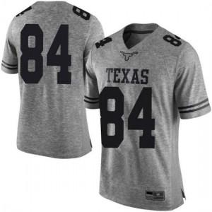 Men Texas Longhorns Lil'Jordan Humphrey #84 Limited Gray Football Jersey 405874-926