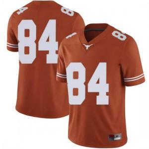 Men Texas Longhorns Lil'Jordan Humphrey #84 Limited Orange Football Jersey 185490-683