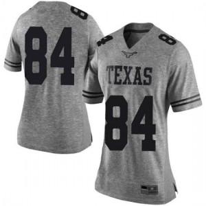 Women Texas Longhorns Lil'Jordan Humphrey #84 Limited Gray Football Jersey 156203-929