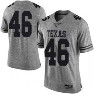 Men Texas Longhorns Luke Brockermeyer #46 Limited Gray Football Jersey 396800-712