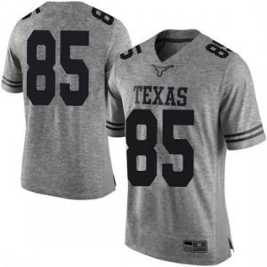 Men Texas Longhorns Malcolm Epps #85 Limited Gray Football Jersey 416262-244