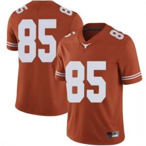 Men Texas Longhorns Malcolm Epps #85 Limited Orange Football Jersey 491193-540