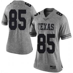 Women Texas Longhorns Malcolm Epps #85 Limited Gray Football Jersey 973984-594