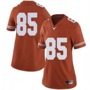 Women Texas Longhorns Malcolm Epps #85 Limited Orange Football Jersey 855188-943