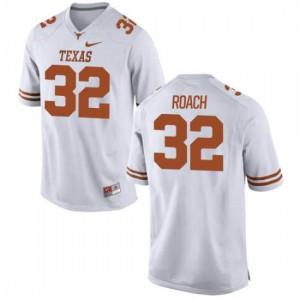 Women Texas Longhorns Malcolm Roach #32 Game White Football Jersey 455314-758