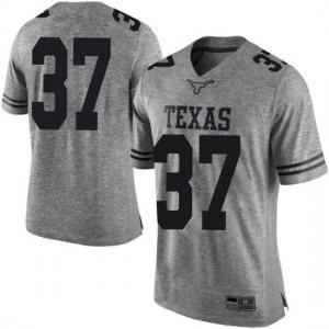 Men Texas Longhorns Michael Williams #37 Limited Gray Football Jersey 776811-717