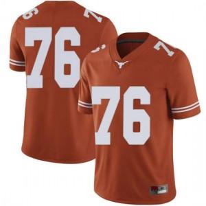 Men Texas Longhorns Reese Moore #76 Limited Orange Football Jersey 686501-672