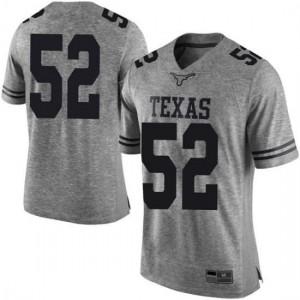 Men Texas Longhorns Samuel Cosmi #52 Limited Gray Football Jersey 131881-461