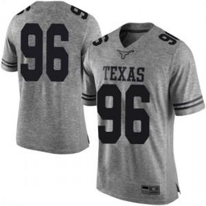 Men Texas Longhorns Tristan Bennett #96 Limited Gray Football Jersey 752316-476