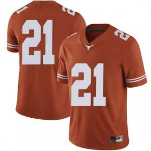 Men Texas Longhorns Turner Symonds #21 Limited Orange Football Jersey 133260-547